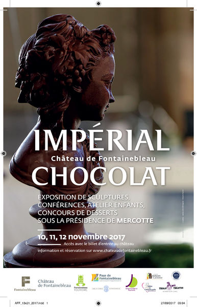 salon du chocolat au chateau de fontainebleau en novembre 2017