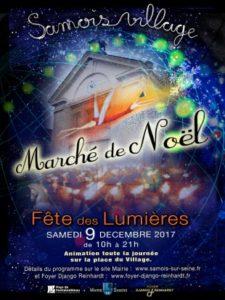 marche de noël 2017 samois-sur-seine au pays de fontainebleau