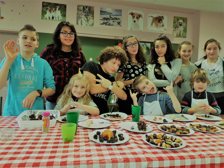 atelier culinaire vacances de fin d'année 2017 au Pays de Fontainebelau