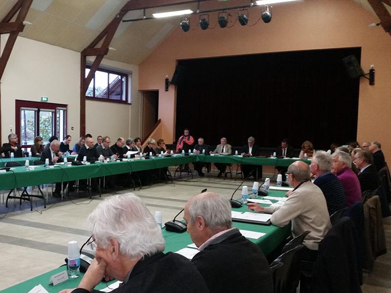 Séance du conseil communautaire du 29 mars 2018 à Noisy-sur-Ecole
