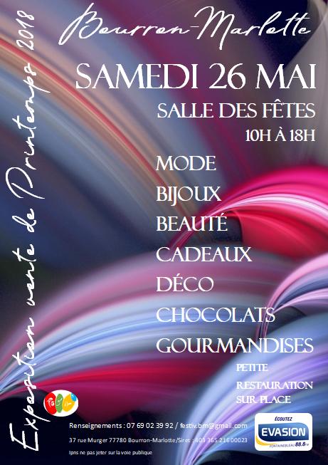 Festiv'exposition vente du printemps de bourron-marlotte