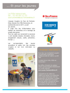 verso brochure été 2018 ados