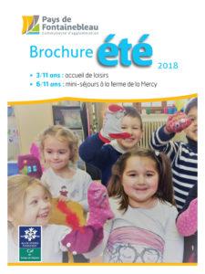 couverture brochure été 2018 enfance