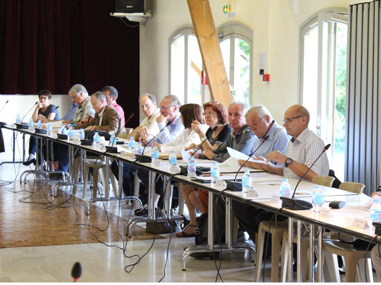 séance du conseil communautaire du 31 mai 2018 à Cély