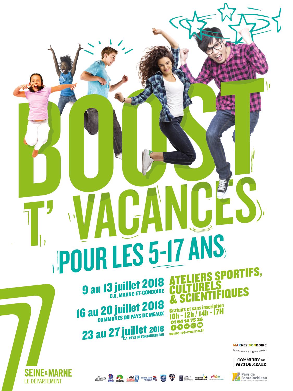 Boost'T vacances juillet au Pays de Fontainebleau
