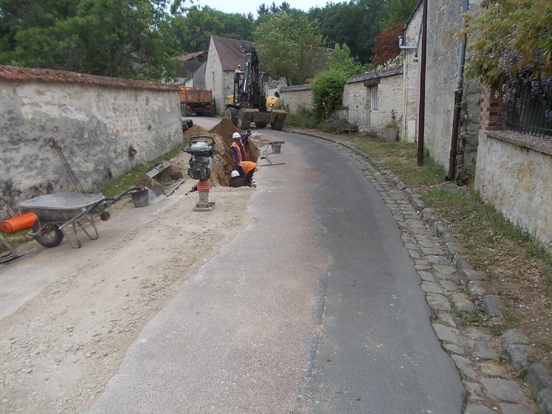 travaux eau potable à Boissy-aux-cailles