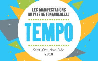 couverture tempo septembre a decembre 2018 manifestations pays de fontainebleau