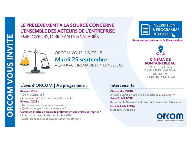 réunion orcom septembre 2018