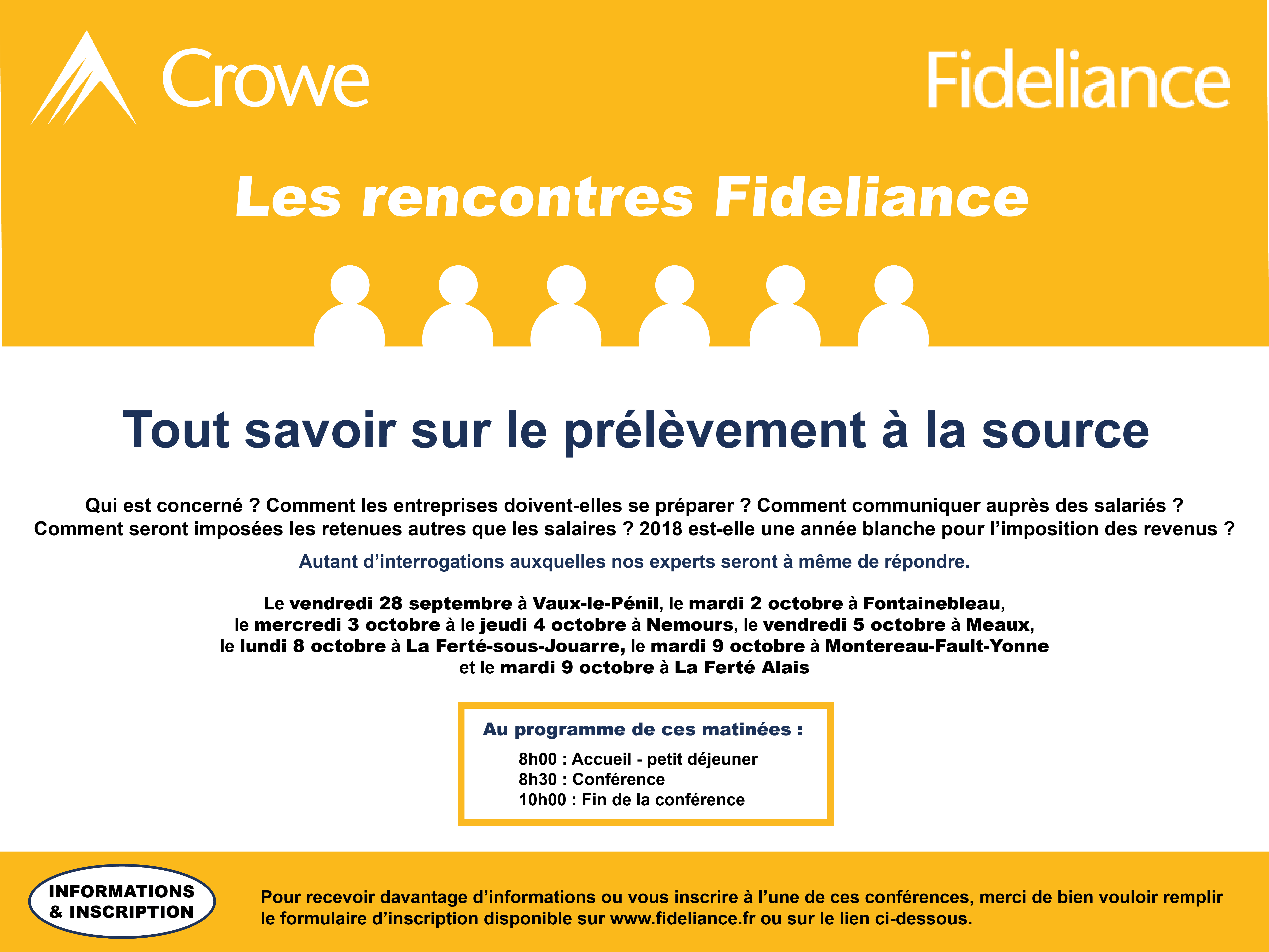 conference fideliance prelevement a la source