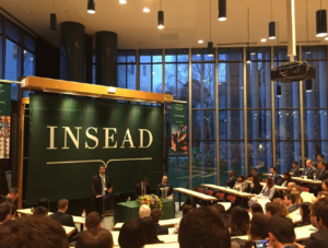 conférence 2019 Insead au Pays de Fontainebleau