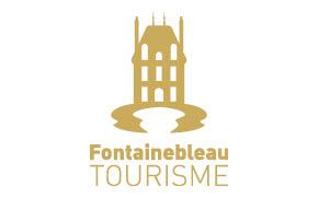 logo fontainebleau tourisme or