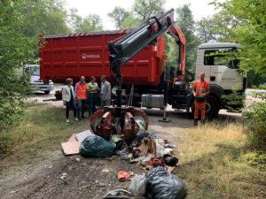 retrait dépot sauvage aout 2019 smictom onf pays de fontainebleau