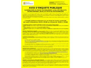 avis enquete publique RLPI