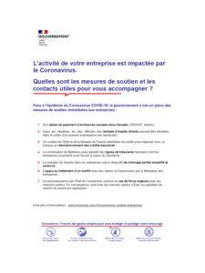 une brochure economie.gouv.fr