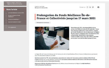 fd resilience prolongation