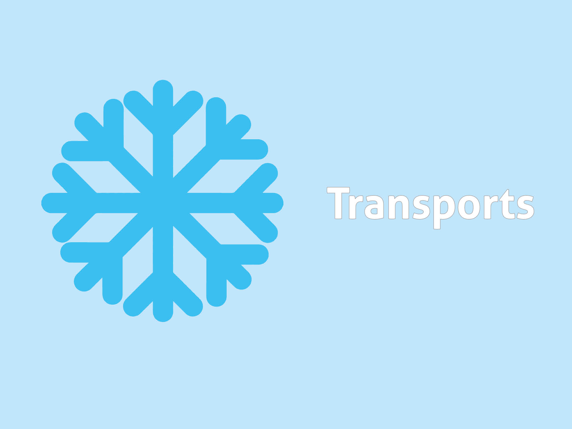 neige transports